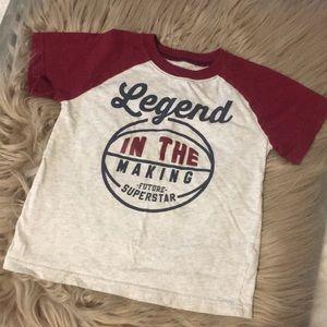 """Carter's """"Legend"""" shirt"""